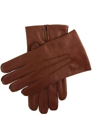 Dents Men Gloves - Men's Imitation Peccary Leather Gloves In Size Xl