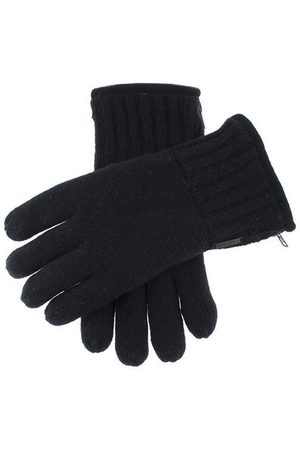Dents Men's Thinsulate Lined Knitted Gloves With Zip In Size L