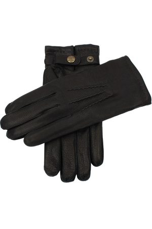 Dents Men's Lambswool Lined Deerskin Leather Gloves In Size 11