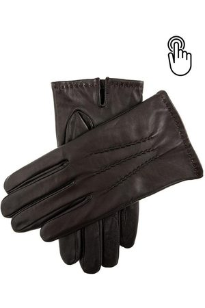 Dents Men's Touchscreen Leather Gloves In Size L