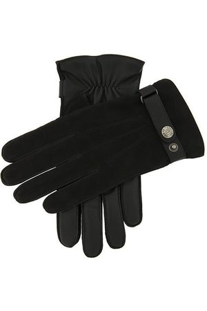 Dents Men's Wool Lined Nubuck & Leather Gloves In Size Xl
