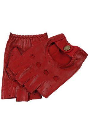 Dents Men's Fingerless Leather Driving Gloves In Size M