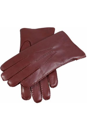 Dents Men's Fur Lined Leather Gloves In Size 10