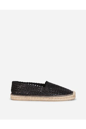Dolce & Gabbana Men Loafers - Loafers and Moccasins - WOVEN GOATSKIN ESPADRILLES male 42