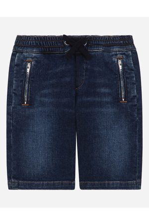 Dolce & Gabbana Boys Trousers - Trousers and Shorts - DENIM SHORTS male 2