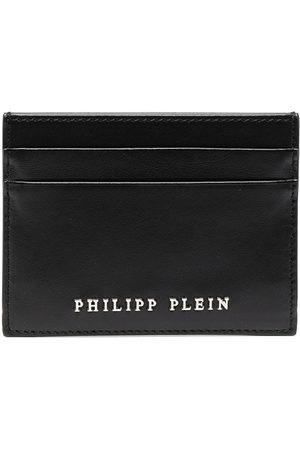 Philipp Plein Men Purses & Wallets - Logo-embellished calf leather cardholder