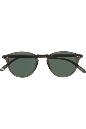 Garrett Leight Sunglasses - Hampton round-frame sunglasses