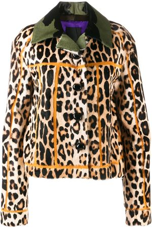 adidas Leopard print jacket - Neutrals