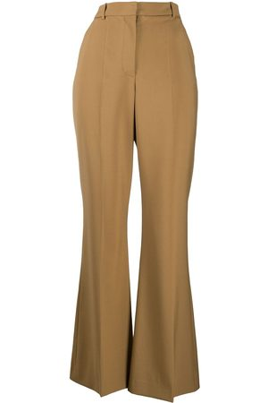 Joseph High-waisted flared tailored trousers - Neutrals