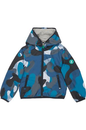 adidas Camouflage Print Recycled Nylon Jacket