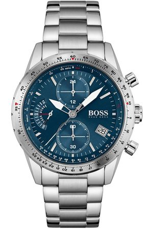 adidas Pilot Edition Chrono Blue Dial Stainless Steel Bracelet Gents Watch