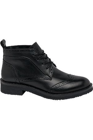 adidas Brogue Leather Ankle Boots