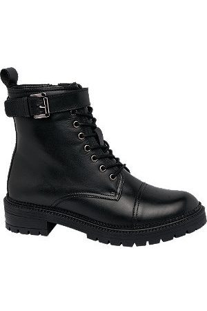 adidas Women Boots - Leather Chunky Boots