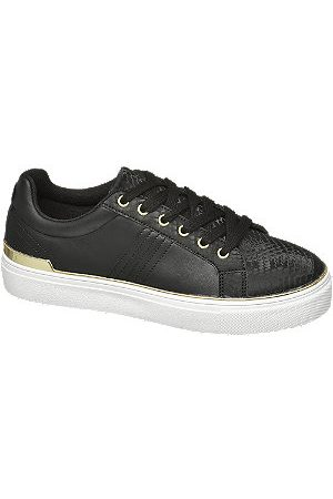 adidas Ladies Reptile & Gold Detail Cupsole Trainers