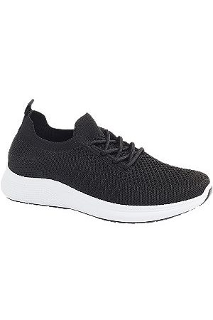 adidas Ladies Knitted Lace-up Trainers