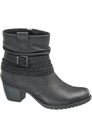 adidas Stud Detail Heeled Ankle Boots