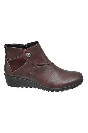 adidas Bordo Wedge Comfort Ankle Boots