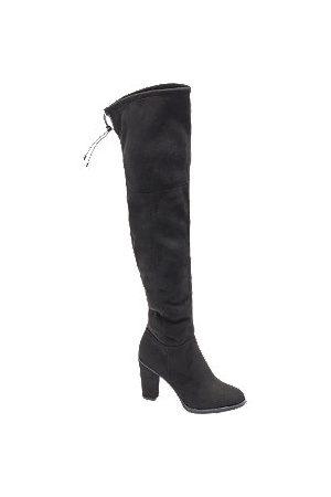 adidas Block Heeled Long Leg Boots