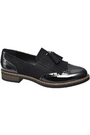adidas Patent Tassel Loafers