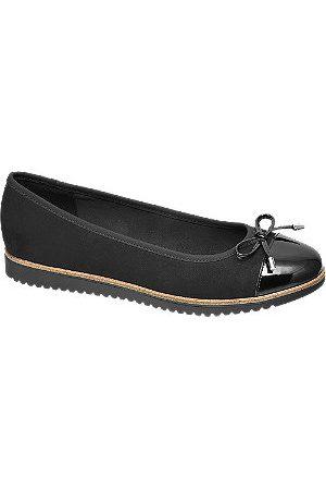 adidas Women Ballerinas - Black Patent Toe Ballerinas