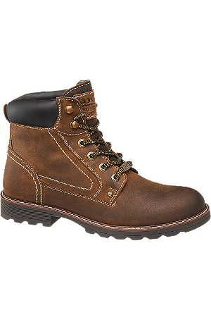 adidas Mens Leather Lace-up Boots