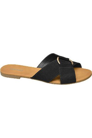 Graceland Women Sandals - Cross Strap Mule Sandals