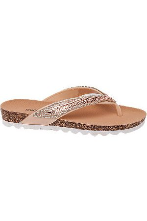 adidas Women Sandals - Ladies Rose Jewel Toe-Post Sandals