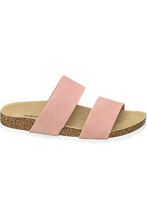 adidas Women Sandals - Ladies Twin Strap Footbed Sandals