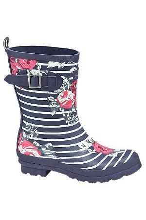 adidas Ladies Floral Striped Wellies