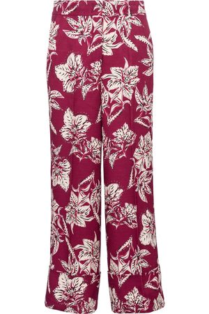 adidas Structured Florals high-rise straight pants