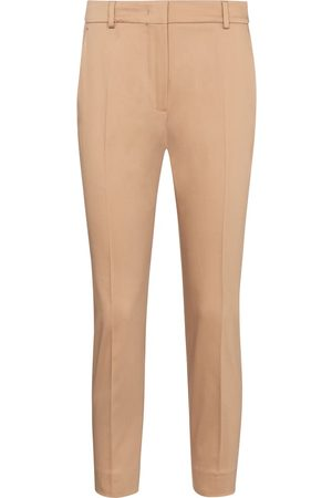 adidas Women Stretch Trousers - Calcut stretch-cotton cropped pants