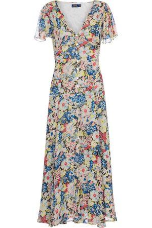 adidas Floral midi dress