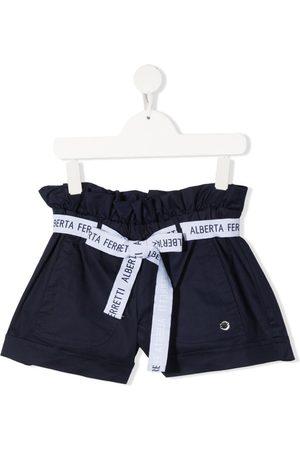 adidas Logo belt shorts