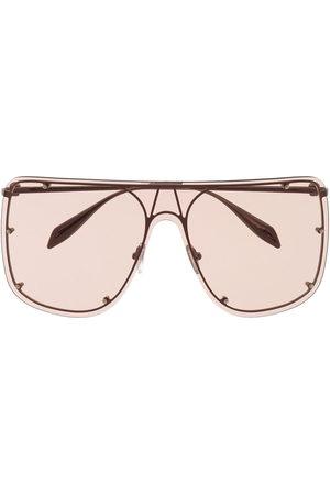 Alexander McQueen Oversized-frame sunglasses