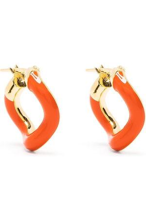 adidas Wave hoop earrings