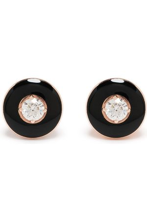 adidas 18kt rose Mina diamond earrings