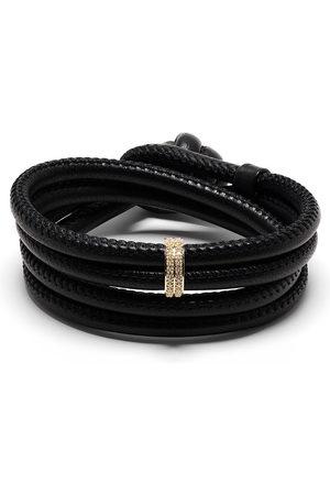 adidas 14kt yellow diamond wrap bracelet