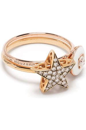 adidas 18kt rose Mina & Istanbul Star ring set