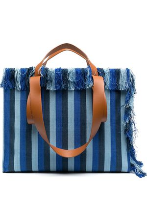 Camper Lab Women Handbags - Spandalones striped tote
