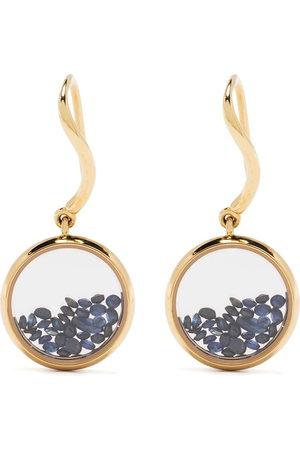 adidas 18kt yellow sapphire Chivor drop earrings