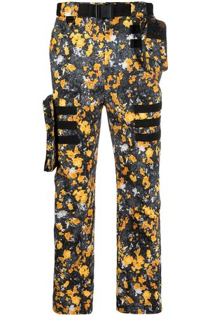 adidas Abstract-print cargo trousers