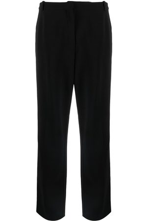 adidas Pre-owned straight-leg wool trousers