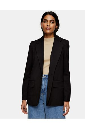 Topshop Single breasted suit blazer in