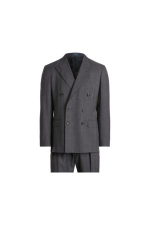 adidas Men Polo Shirts - Polo Glen Plaid Twill Suit