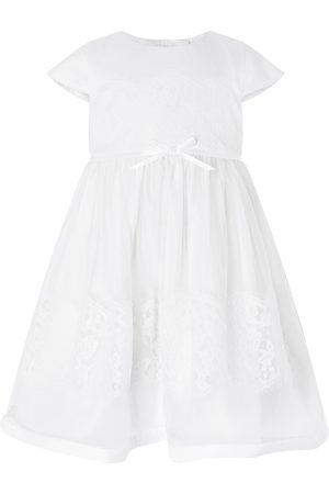 adidas Baby Alovette Christening Gown Ivory
