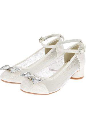 adidas Baby Girls Embellished Diamante Bow Princess Shoes, Size: 7