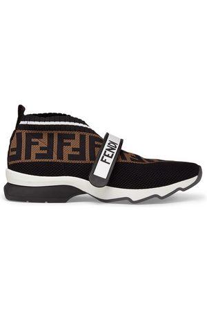 adidas Black Fabric Sneakers