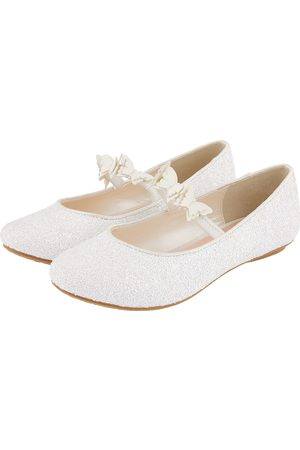 adidas Glitter Butterfly Ballerina Shoes Ivory
