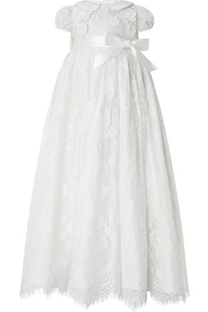 adidas Baby Provenza Silk Christening Gown Ivory