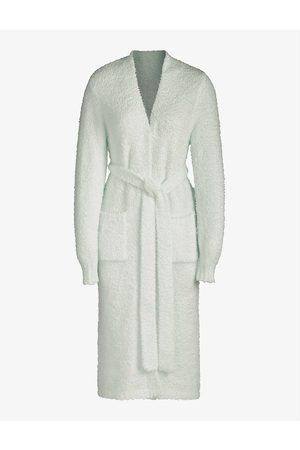 SKIMS Women Bathrobes - Ladies Pink Cozy Knitted Robe